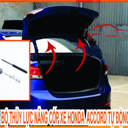 Bộ Thủy Lực Nâng Cốp Sau Xe Honda Accord Tự Động