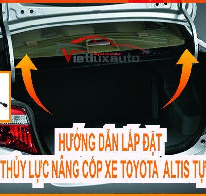 Bộ Thủy Lực Nâng Cốp Sau Xe Toyota Altis Tự Động